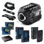 ZESTAW Blackmagic URSA Mini Pro + 2 x CFast 512GB + 2 x 150Wh - Bundle