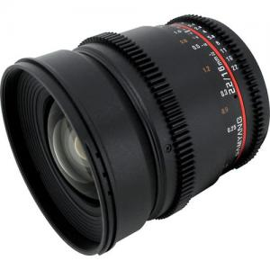 Samyang 16mm T2.2 VDSLR ED AS UMC CS II Canon EF
