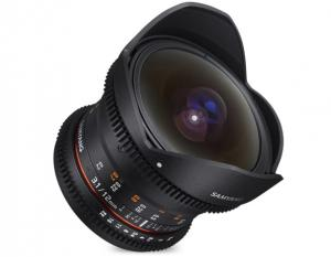 Samyang 12mm T3.1 VDSLR Fish-Eye Canon EF
